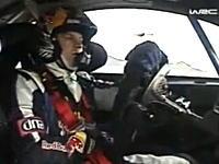 キミ・ライコネン、WRCで事故って大回転!しかしケガは無し 動画