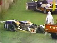 富士マスターズ250キロレース。観客を巻き込んだ高橋徹の死亡事故映像。記憶に残るクラッシュ。