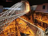 製作期間16年。総延長12.8キロ!世界最大の鉄道模型を作った男の動画象。