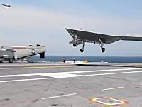 例のステルス無人機「X-47B」が空母への着艦に成功。もうアメリカさんには絶対に敵わない。