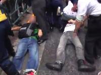 反韓デモの行く手を座り込みのカウンターで迎え撃つ人たちの映像が話題に。
