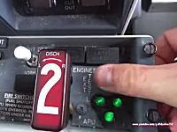 ボーイング737の起動手順を撮影したコクピット映像。イミフだけどカッコイイ。