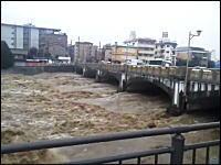 台風18号が怖い。大阪京都滋賀県の河川がヤバイ。避難勧告メールも怖い。