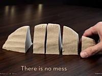 スウェーデン生まれの不思議な「砂」キネティックサンドが面白そう動画。
