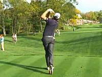 「コンッ!」ゴルフのプロツアーで打ったティーショットが観客の頭蓋骨に直撃