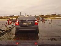 このロシアの車載がおもロシアでおそロシアでひどロシアwwwなんつー道だ。
