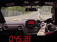 日産NISMO・GT-Rがニュルで量産型市販車最速のラップタイムを記録!の映像