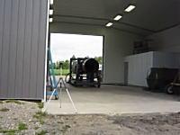 三脚とカメラが強い。GEの大ヒットターボジェットエンジンJ79の燃焼試験。