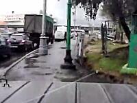 リアルGTA。ロシアのキチガイドライバーの運転が酷すぎる車載。事故る捕まる。