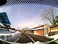 雪国で車を運転する時に知っておいた方がいい事。屋根の雪は下ろしてから。