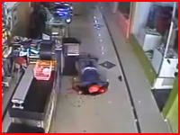 ATM強盗失敗で犯人の頭部が爆発する(((゚Д゚)))なんで爆発したんだ(((゚Д゚)))