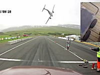 サーキットに飛行機が墜落し爆発炎上する凄い映像が公開される。アークレイリ
