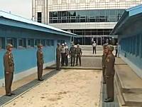 朝鮮半島のお勉強。違法に訪朝した韓国の活動家ノ・スヒが国境で捕らえられる瞬間