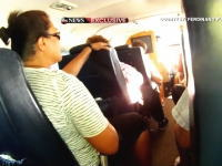 ハワイで飛行機が海に墜落。墜落~脱出までを機内の乗客が撮影していた映像。