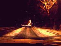 安全運転していたのに・・・。撮影者が殺された酷い事故の車載。音量注意。