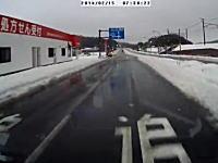 どか雪の意外な盲点?千葉県木更津市で撮影された雪解け水のドバーン動画。