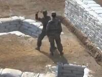 またまた発見www中国の新兵さんによる手榴弾投げ訓練の失敗映像www