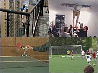 サッカーボールってこんなに曲がるものなのか。アメージングなフリーキック。1g小。
