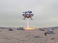 SF映画みたい。プロジェクトモーフィアスの宇宙船の離着陸映像がマジSF映画。