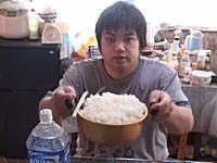 爆食い。YouTubeにアップされた林秀紀(素人)さんの大食いビデオがヤバいwww