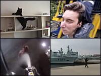 アムステルダムの「立ちション許さない隊」がワロタ動画。1000mg小ネタ集。