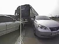 恐ろしい事故の瞬間の前後左右車載動画。どんだけカメラ付けてんだよwwwww