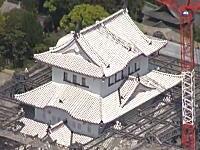 驚きの白さ。姫路城ってこんなに白かったんだ動画。平成の大修理。