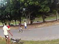 ブラジルの自転車盗難事件はレベルが違う。鍵とか関係ねえ。乗ってても奪われるw