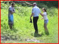 ロシアで30歳の男性が彼女の目の前で手榴弾自殺。その瞬間の映像がアップされる。