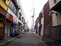 教習所で見せるべき動画。住宅街を走行中に少年チャリダーが飛び出してくるドラレコ