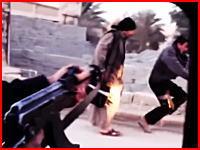 イラクの殺人鬼。車の中から銃を乱射して無抵抗の人たちを殺害しまくる。