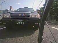 守口市でロードバイク乗りとタクシー運ちゃんの喧嘩。双方ブチギレの模様www