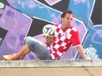 サッカーワールドカップ開幕記念にレミさんが全32チームのユニを着てトリックシュート