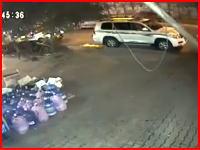テロ動画。自動車爆弾が爆発する瞬間の映像がハンパない(((゚Д゚)))バグダード