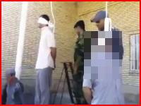 イランで絞首刑の最中の男性が被害者家族に赦免され死を免れる。再生注意。