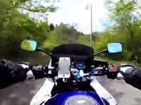 悲しいバイク乗り動画。免許取得&納車1ヵ月で立ちゴケ3回やっちゃった人の記録w