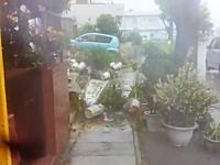 大型の台風8号が直撃中の沖縄より現地の様子が次々とアップされてきました。