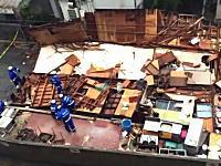 那覇市の「お食事処 栄」の動画がキタゾー。台風に展開させられた悲しいお店。