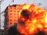 イスラエル国防軍によるハマス司令部ビル爆破解体の様子がハンパないwwww