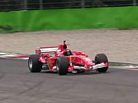 シビレル生音。フェラーリF1のV10サウンド。F2001、F2002&F2005。モンツァにて。