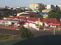 ロシアで起きたガソリンスタンド大爆発事故の映像がヤバい。漏れ出したガスに引火してドーン