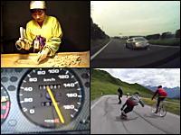 伊勢自動車道で鬼速自動車が撮影される。いったい何キロでていたんだ。1g小ネタ集