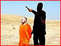 イスラム国が二人目のアメリカ人ジャーナリストを斬首し動画を公開する。再生注意。