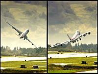 離陸時に恐ろしいほどに左右に揺れてしまったカーゴルックス航空のB747-8