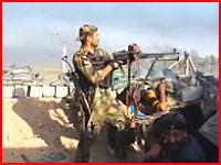 戦闘中にイスラム国のスナイパーにヘッドショットされてしまったイラクの兵隊さん