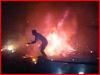 花火大会の花火で観客が全身やけど(((゚Д゚)))あまりにも恐ろしい事故のビデオ。