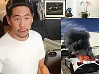 おい!外のあんたの車が燃えているぞ!と脅かすアプリでオーナーを驚かせてみた