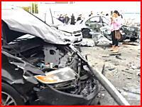 14人が巻き込まれうち3名が死亡したこの事故の瞬間がヤバすぎる(((゚Д゚)))