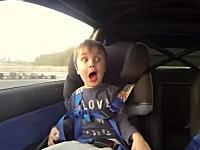 顔www4歳になった息子を再びドリフトマシンの助手席に乗せてみた。WRX STi
