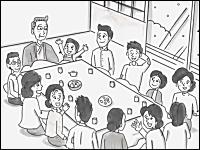 お笑い芸人「鉄拳」のパラパラ漫画の最新作がキテタ動画。年賀状のCM「年賀のキヅナ」